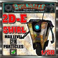 Display crate 2D-E Swirl