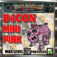 Display crate B4CON mini pink