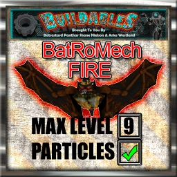 Display crate BatRoMech Fire