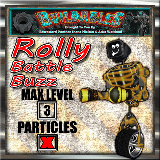 Display crate Rolly Battle Buzz