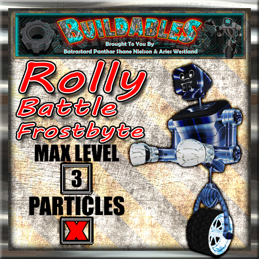Display crate Rolly Battle Frostbyte