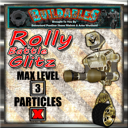 Display crate Rolly Battle Glitz