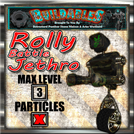 Display crate Rolly Battle Jethro