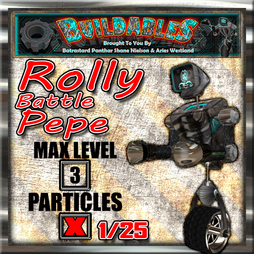 Display crate Rolly Battle Pepe 1of25