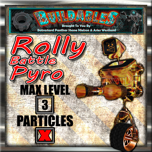 Display crate Rolly Battle Pyro