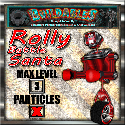 Display crate Rolly Battle Santa