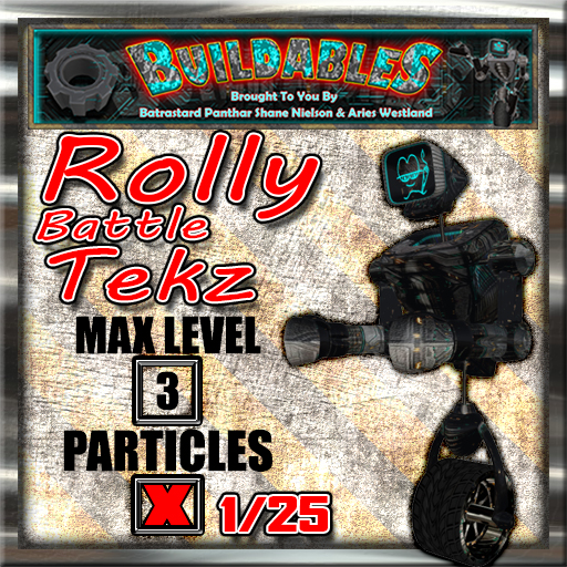 Display crate Rolly Battle Tekz 1of25