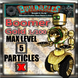Display crate Boomer Gold 1of100