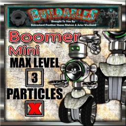 Display crate Boomer Mini