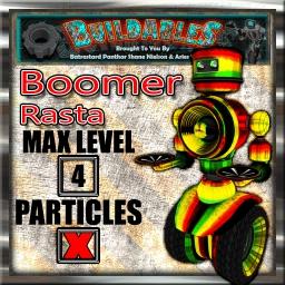 Display crate Boomer Rasta