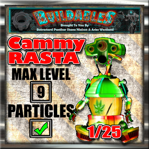 Display crate Cammy Rasta 1of25