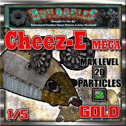Display crate Cheez-E Mega Gold