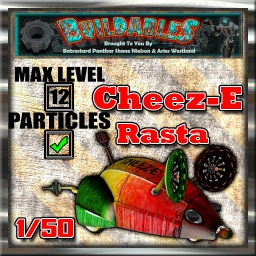 Display crate Cheeze Rasta