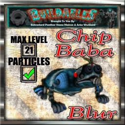Display crate Chip Baba Blur