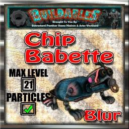 Display crate Chip Babette Blur
