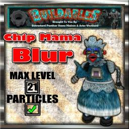 Display crate Chip Mama Blur