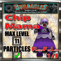 Display crate Chip Mama RFL