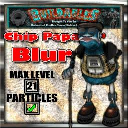 Display crate Chip Papa Blur