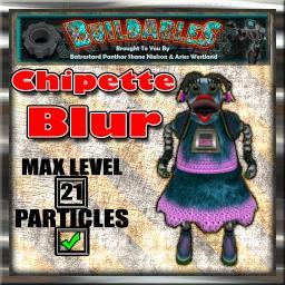Display crate Chipette Blur