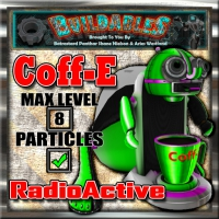 Display crate Coff-e Radioactive