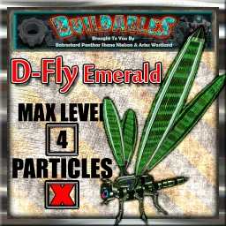 Display crate D Fly Emerald