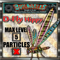 Display crate D Fly Hippy