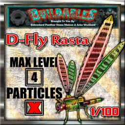 Display crate D Fly Rasta 1of100