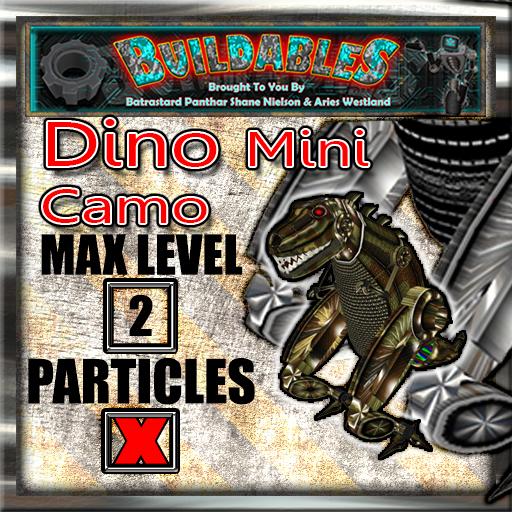 Display crate Dino Mini Camo