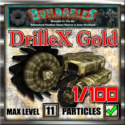 Display crate DrilleX Gold