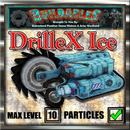 Display crate DrilleX Ice
