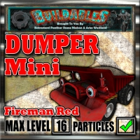 Display crate Dumper Mini Fireman