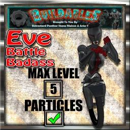Display crate Eve Battle badass