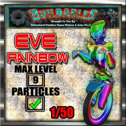 Display crate Eve RainB