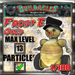 Display crate Frost E Gold
