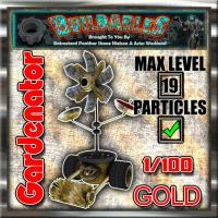 Display crate Gardenator Gold