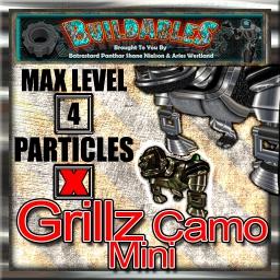 Display crate Grillz Camo Mini
