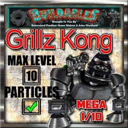 Display crate Grillz Kong Mega