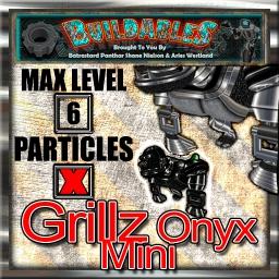 Display crate Grillz Onyx mini