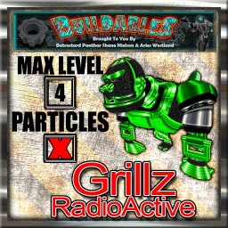 Display crate Grillz RadioActive