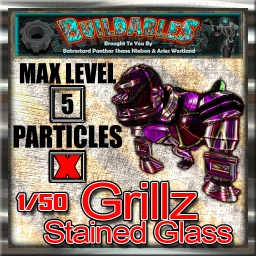 Display crate Grillz Stained Glass 1of50