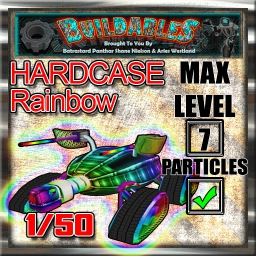Display crate Hardcase Rainbow
