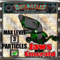 Display crate Jaws Emerald