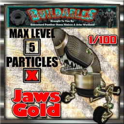 Display crate Jaws Gold 1of100
