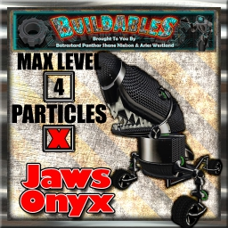 Display crate Jaws Onyx