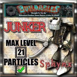 Display-crate-Junker-Sphynx