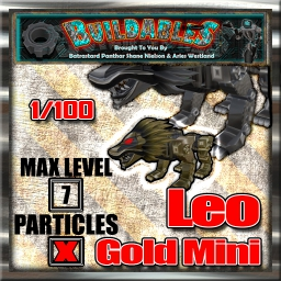 Display crate Leo Gold Mini 1of100