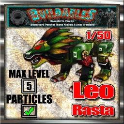 Display crate Leo Rasta