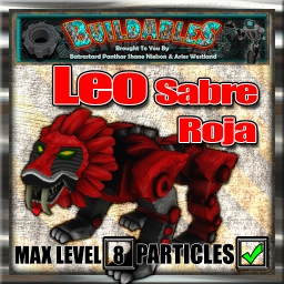 Display crate Leo Sabre Roja