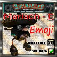 Display crate Mariach E Emoji