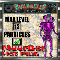 Display crate MeerBot Hot Pink